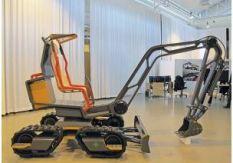 30.04.2014 | Концепция мини экскаватора будущего, для года 2030